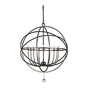 Solaris 9-Light Chandelier (item #RS-03CR-9229X)