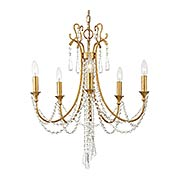 Arcadia 5 Light Chandelier (item #RS-03CR-ARC-1905X)