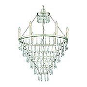 Lucille 6 Light Chandelier (item #RS-03CR-LUC-A9066-SA)