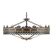 Berkeley 6-Light Chandelier (item #RS-03CU-9000-0181)