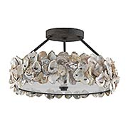 Oyster 3-Light Semi-Flush (item #RS-03CU-9000-0265)