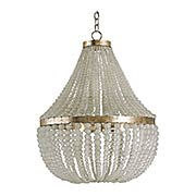 Chanteuse 3-Light Chandelier (item #RS-03CU-9202)