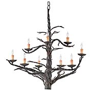 Treetop 9-Light Chandelier (item #RS-03CU-9327)