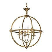 Bellario Orb Chandelier (item #RS-03CU-9346)