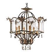 Zara 6-Light Pendant / Flush Mount Ceiling Light (item #RS-03CU-9387)