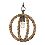 Bowline 1-Light Pendant (item #RS-03CU-9489)
