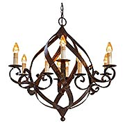 Gramercy 9-Light Chandelier (item #RS-03CU-9528)