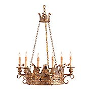 Crown 6-Light Chandelier (item #RS-03CU-9547)