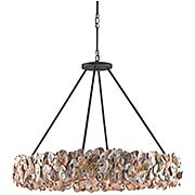 Oyster Circle 8-Light Chandelier (item #RS-03CU-9672)