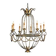 Elegance 8-Light Chandelier (item #RS-03CU-9948)