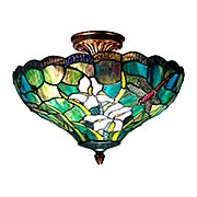 Savannah Tiffany Flush Mount (item #RS-03DT-TH70098)