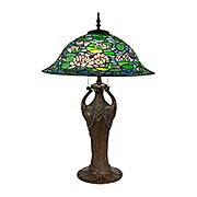 Ren Tiffany Bronze Table Lamp (item #RS-03DT-TT17115)