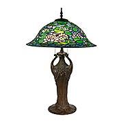 Ren Tiffany Bronze Table Lamp (item #RS-03DT-TT17115)
