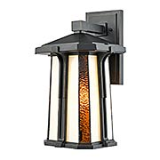 Fleetwood Outdoor Tiffany Wall Sconce (item #RS-03DT-TW17030)