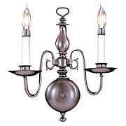 Jamestown 2 Light Wall Sconce In Mahogany Bronze Finish (item #RS-03FR-9122-MB)