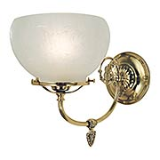 Chancery 1 Light Sconce (item #RS-03FR-F-7521-PB)