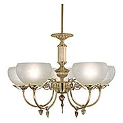 Chancery 5 Light Chandelier (item #RS-03FR-F-7525-PB)