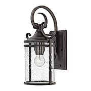 Casa Medium 1-Light Wall Mount With Seedy Glass (item #RS-03HK-1144OL-CL)