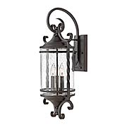 Casa Large 3-Light Wall Mount With Seedy Glass (item #RS-03HK-1148OL-CL)