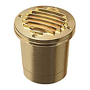 Solid Brass Well Light (item #RS-03HK-1599BS)