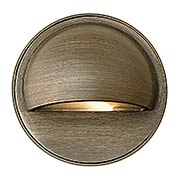 Hardy Island Round Cast-Brass Eyebrow Deck Sconce (item #RS-03HK-16801MZX)