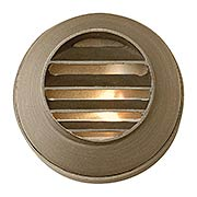 Hardy Island Round Cast-Brass Louvered Deck Sconce (item #RS-03HK-16804MZX)