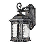 Regal Small Exterior Wall Sconce (item #RS-03HK-1720BG)