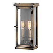 Hamilton 2-Light Outdoor 14 1/4-Inch Wall Mount (item #RS-03HK-2004X)