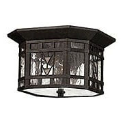 Tahoe Flush Ceiling Porch Light In Regency Bronze (item #RS-03HK-2243RB)