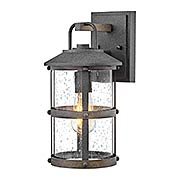 Lakehouse Small Outdoor 1-Light Wall Mount (item #RS-03HK-2680DZ)