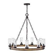 Sawyer 9-Light Outdoor Chandelier (item #RS-03HK-29208X)