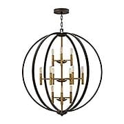 Euclid 12-Light Pendant (item #RS-03HK-3469SB)