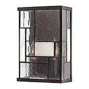Mondrian 2 Light Wall Sconce In Buckeye Bronze (item #RS-03HK-4570KZ)