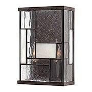 Mondrian 2 Light Wall Sconce In Buckeye Bronze (item #RS-03HK-4570KZ)