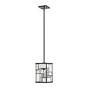 Mondrian Single Small Pendant In Buckeye Bronze (item #RS-03HK-4577KZ)