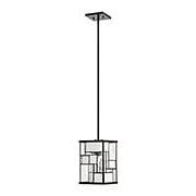 Mondrian Single Small Pendant In Buckeye Bronze (item #RS-03HK-4577KZ)