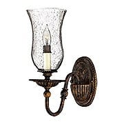 Rockford Single Sconce In Forum Bronze (item #RS-03HK-4620FB)