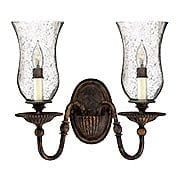 Rockford Double Sconce In Forum Bronze (item #RS-03HK-4622FB)