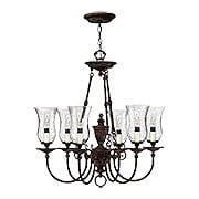 Rockford 6 Light Chandelier In Forum Bronze (item #RS-03HK-4626FB)