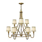 Morgan 9-Light Chandelier (item #RS-03HK-4878X)