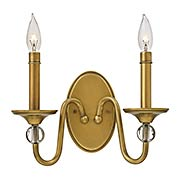 Eleanor 2-Light Wall Sconce (item #RS-03HK-4952HBX)