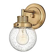 Poppy 1-Light Bath Sconce (item #RS-03HK-5930X)