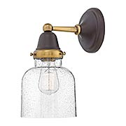 Academy 1-Light Wall Sconce with Bell Shade (item #RS-03HK-67003X)