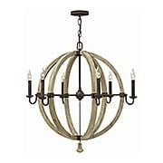 Middlefield 6-Light Spherical Chandelier (item #RS-03HK-FR40566IRRX)
