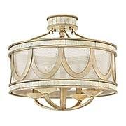 Sirena Semi Flush-Mount Ceiling Light (item #RS-03HK-FR48053X)