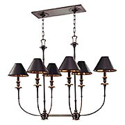 Jasper 6-Light Island Chandelier (item #RS-03HV-1868X)