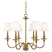 Menlo Park 6-Light Chandelier (item #RS-03HV-4036X)