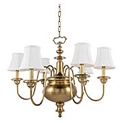 Yorktown 6-Light Chandelier (item #RS-03HV-8716X)