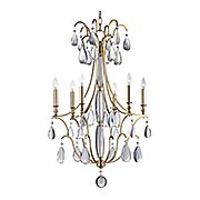 Crawford 6-Light Chandelier (item #RS-03HV-9324X)