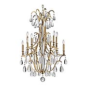 Crawford 12-Light Chandelier (item #RS-03HV-9329X)